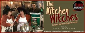 The Kitchen Witches play poster.