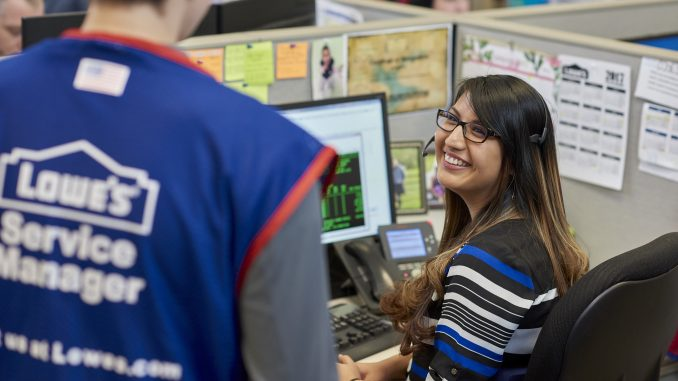 Lowe's hiring more than 1,700 US employees to provide personalized customer support. Source: Lowe's Companies, Inc.