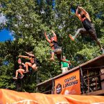 MuckFest MS Crash Landing obstacle in Detroit MI, Source: Event 360.