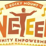 City of Rocky Mount NC 2017 Juneteenth logo.