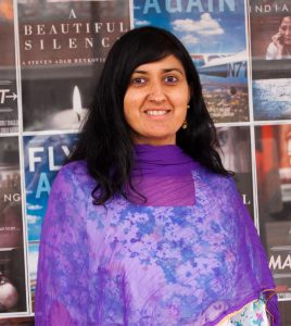 Film festival founder Gauri Singh. Source: Donna Campbell Smith, Franklin County Arts Council NC.