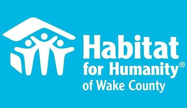 Habitat for Humanity of Wake County NC's logo.