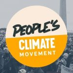 Peoples Climate Movement logo.