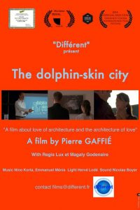 """The dolphin-skin city"" film poster. Source: Donna Campbell Smith, Franklin County Arts Council NC."