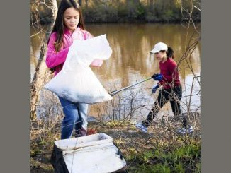 Annual clean-up held in Nash/Edgecombe counties. Photo: City of Rocky Mount NC.