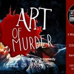 Art of Murder play poster. Source: The Barn Dinner Theatre, Greensboro NC.