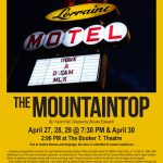 The Mountaintop poster. Source: Imperial Centre, Rocky Mount NC.