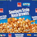 One of the labels for hash browns recalled for golf ball material contamination. Source: US FDA.