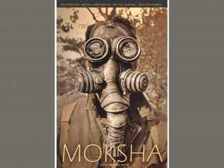 """Moksha"" film poster. Source: Donna Campbell Smith, Franklin County Arts Council NC."