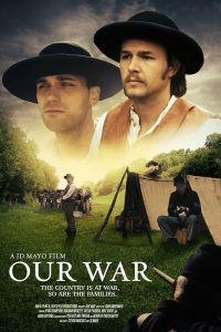 """Our War"" film poster. Source: Donna Campbell Smith, Franklin County Arts Council NC."