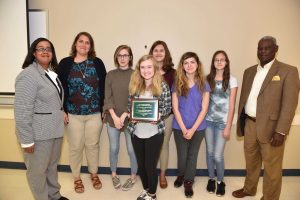Northern Nash High School Environmental Club. Source: City of Rocky Mount NC.