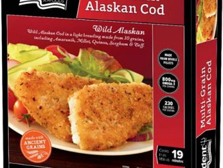 A box photo released by the US FDA with the Trident Seafoods Corporation recall notice May 11, 2017.