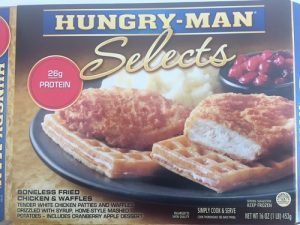 The Hungry Man product label included with the US FDA recall May 5, 2017.