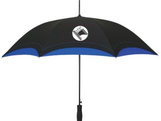 Indigo Moon Film Festival logo umbrella sales will help to raise funds for the new Infamous Umbrella Scholarship.