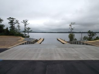 Hertford NC Boating Access Area. Source: Ryan Kennemur, NC Wildlife Resources Commission.