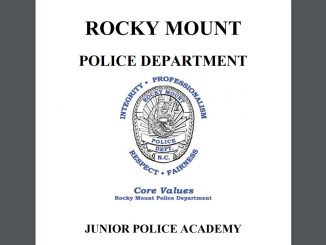 Rocky Mount NC holds its Junior Police Academy each year.