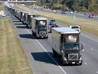 2017 World's Largest Truck Convoy, a unique one-day celebration of the trucking industry and its support of Special Olympics. Source: www.NCPressRelease.org.