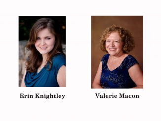 Author Erin Knightley and Poet Valerie Macon will Judge the 2017 FCAC Writers' Guild writing contest.