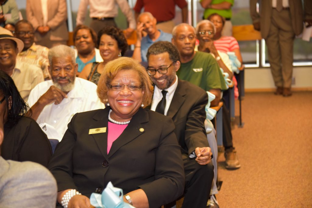 Crowd Shot at the swearing-in ceremony for Small-Toney. Source: City of Rocky Mount NC.