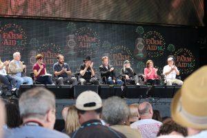 Farm Aid 2014 press conference in North Carolina. Photo: Frank Whatley