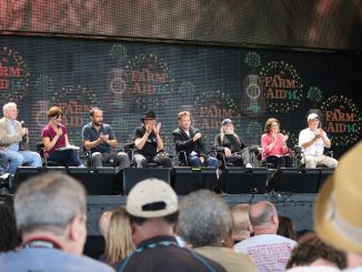 Farm Aid 2014 press conference in North Carolina. Photo: Frank Whatley