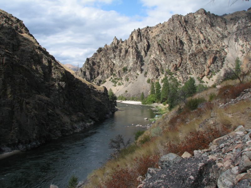 Middle Fork of the Frank Church-River of No Return Wilderness in Idaho. Source: REX PARKER/FLICKR, via earthjustice.org.