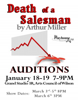 Death of a Salesman Auditions. Source: Ray Shell.