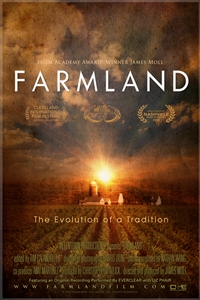 """Farmland (2014) documentary film poster"" by Source (WP:NFCC#4). Licensed under Fair use via Wikipedia."