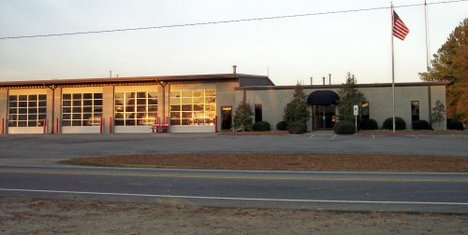 Bunn Fire Station 1. Source: Bunn Rural Volunteer Fire Department, Bunn NC.