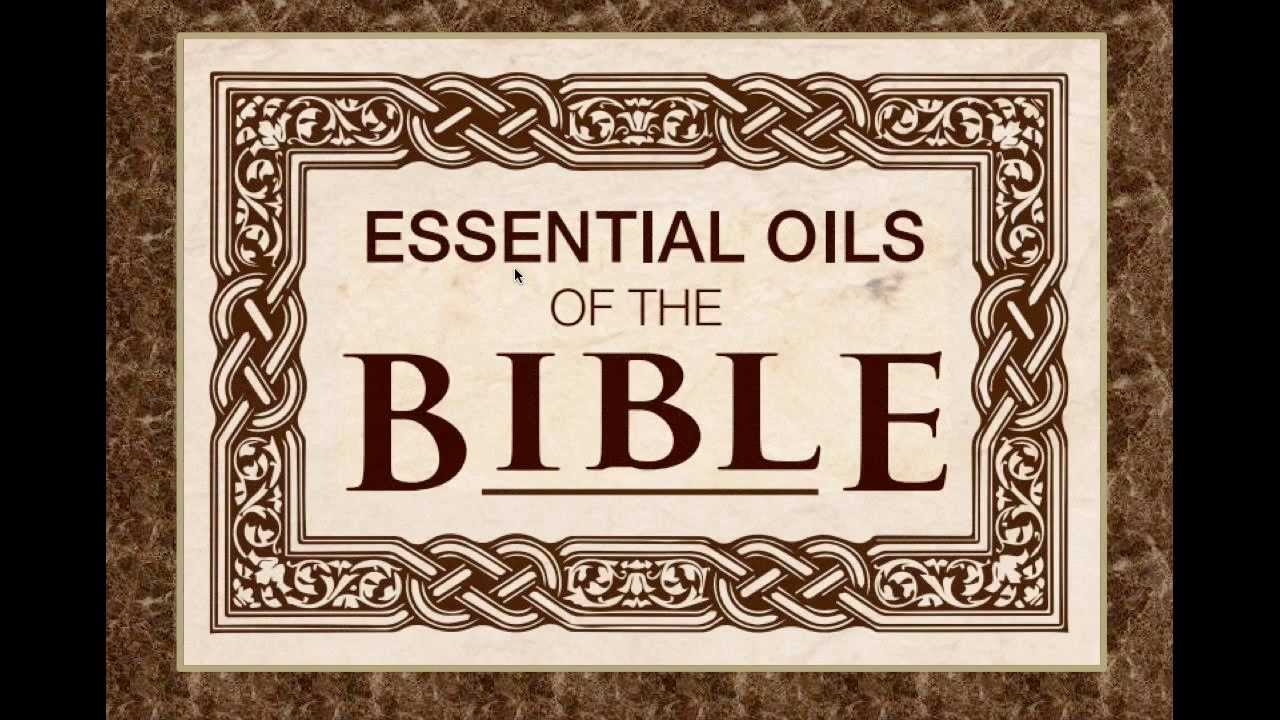 Essential Oils of the Bible logo.