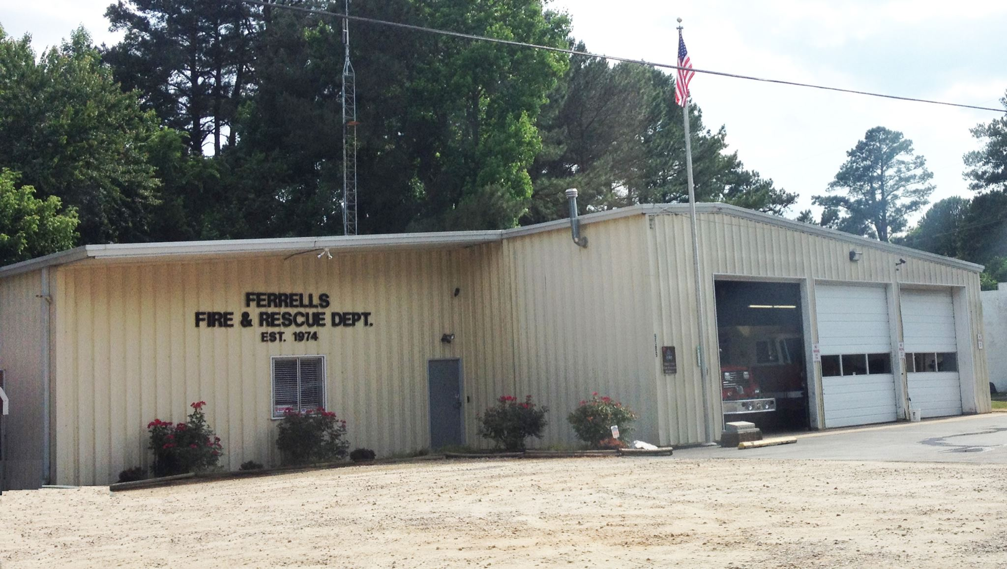 Ferrells Fire & Rescue. Photo: Frank and Kay Whatley.