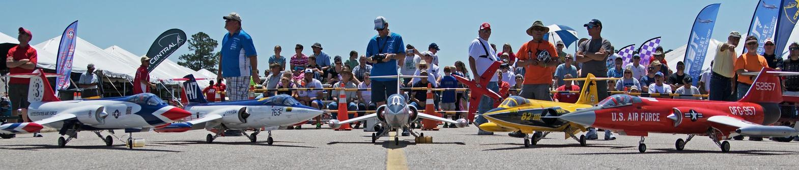 The annual RC Jet Rally in Wilson is organized by First in Flight RC. Photo Source: First in Flight RC, Wilson NC.