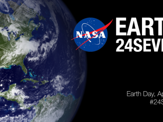 NASA plans to use social media and the hashtag #24Seven on Earth Day 2016. Source: NASA.gov.