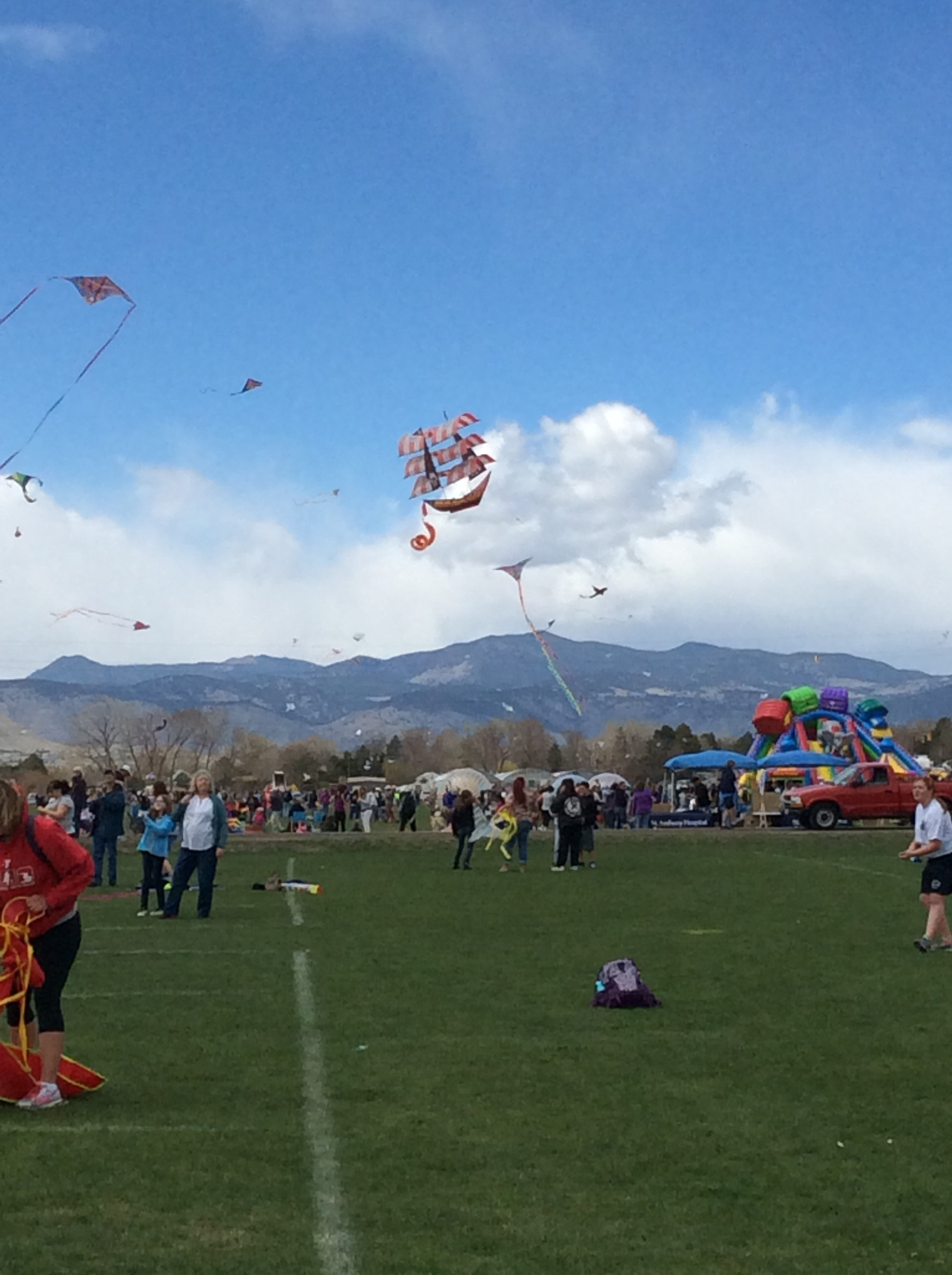 Arvada Kite Festival in April 2015. Source: City of Arvada CO, arvada.org.