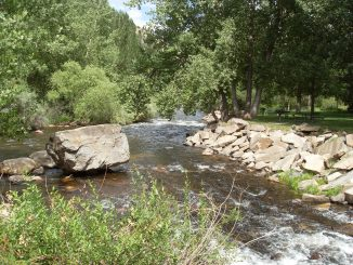 Photo of Big Thompson River, Viestenz Smith Park. Source: Trout Unlimited, Denver CO.