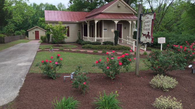 Country Doctor Museum (Bailey NC) during special event April 30, 2016. Photo: Kay Whatley.
