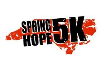 Spring Hope 5K logo for 2016. Source: Spring Hope Chamber of Commerce, Spring Hope NC.