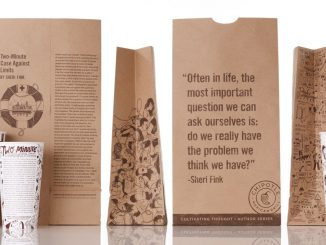 Chipotle Packaging. Source: Chipotle Cultivating Thought website, cultivatingthought.com.