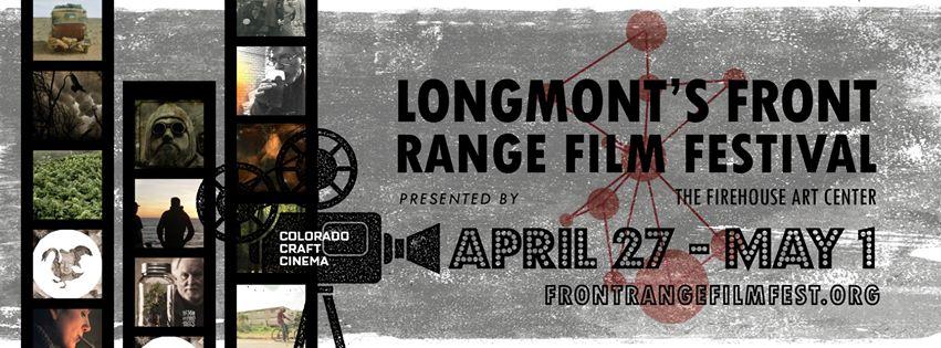Longmont's Front Range Film Festival 2016 poster.