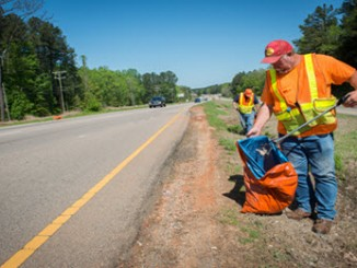 Litter Sweep is held twice a year in NC. Photo: NC Department of Transportation.