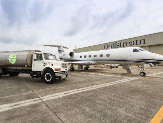 Gulfstream Flies G450 And G550 To EBACE On Renewable Fuels_G450. Source: Gulfstream Aerospace Corp., Savannah GA.