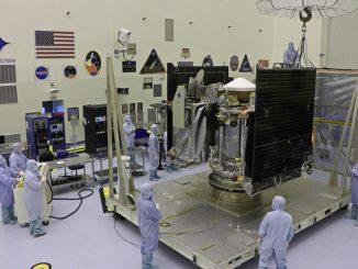 Lockheed Martin OSIRIS-REx Spacecraft Packing. Source: Lockheed Martin.