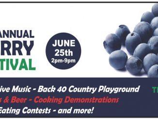 Vollmer Farm's Blueberry Music Festival returns in June 2016. Source: Vollmer Farm, Bunn NC.