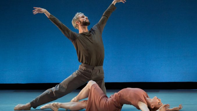 American Ballet Theatre's Gillian Murphy, an alumna of the University of North Carolina School of the Arts, performed at her alma mater recently (shown with ABT colleague James Whiteside) in a benefit that netted $200,000 for a scholarship named in her honor. Source: PRNewsFoto/University of North Carolina School of the Arts, Winston-Salem NC.