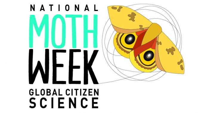 National Moth Week Logo. Source: nationalmothweek.org.