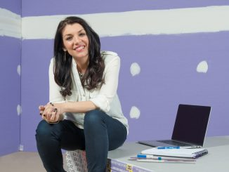 National Gypsum's PURPLE-TO-PERFECT contest offers homeowners chance to win media room, bathroom or garage renovation by TV host and designer Anitra Mecadon. (PRNewsFoto/National Gypsum).