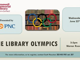 Braswell Library Olympics, Rocky Mount NC.