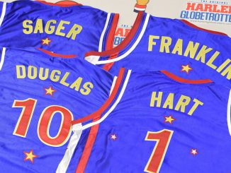 Harlem Globetrotters Select College Slam Dunk Champ, Two Olympians And Actor Kevin Hart In 2016 Player Draft. Source: PRNewsFoto/Harlem Globetrotters, Atlanta GA.