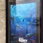 """Finding Dory"" movie poster outside the Wilson NC Carmike 10. Photo: Kay Whatley."