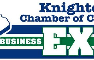 Knightdale Chamber of Commerce Business Expo logo.